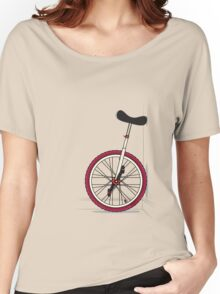 Unicycle By Wall Women's Relaxed Fit T-Shirt