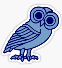 greek owl greece athena Sticker