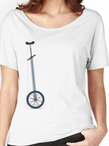 Very Tall Unicycle Women's Relaxed Fit T-Shirt