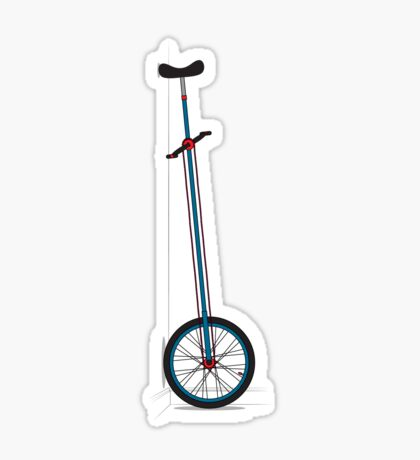 Very Tall Unicycle Sticker
