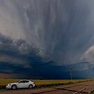 Boise City Oklahoma Going Tornadic... by MattGranz
