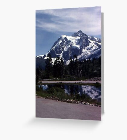 A Clear Day at Mt. Shuksan Greeting Card
