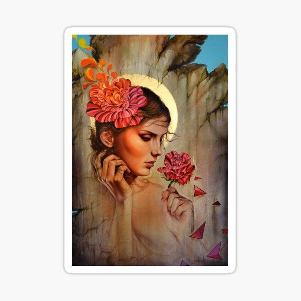 """""""La Ruina de tu Memoria"""" (Love and Memories) Sticker"""