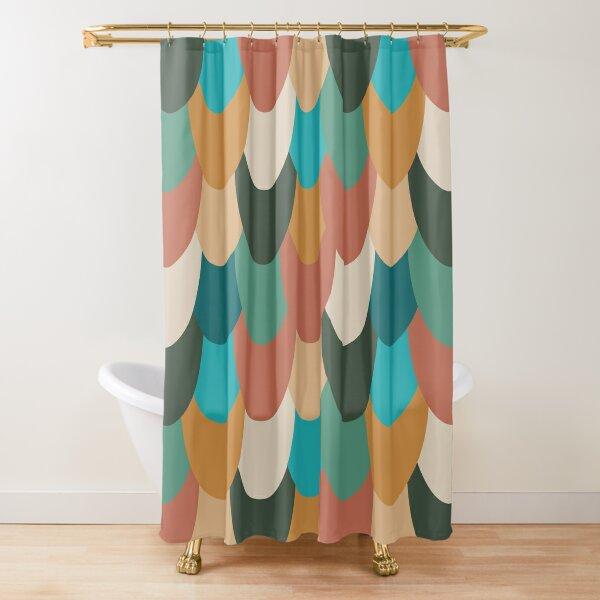 Autumn Mermaid Shower Curtain