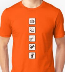 Rock-Paper-Scissors-Lizard-Spock Unisex T-Shirt