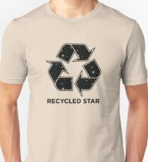 Recycled Star - Inverted Unisex T-Shirt
