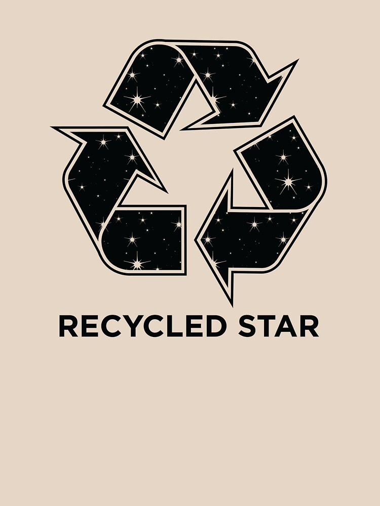 TShirtGifter presents: Recycled Star - Inverted | Unisex T-Shirt