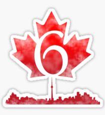 Toronto 6 Sticker