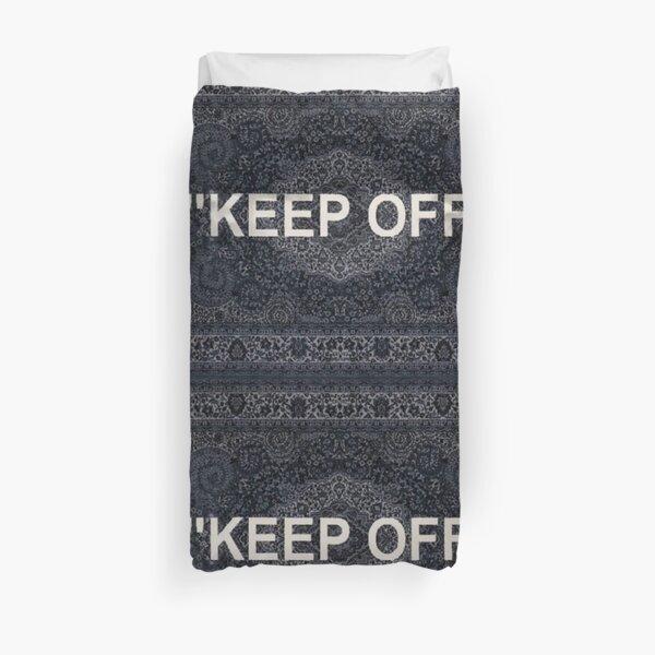 Off white rug, keep off Funda nórdica