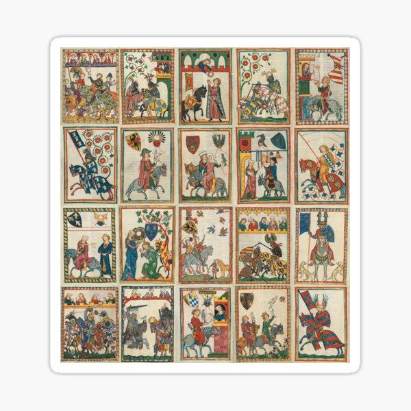 Codex Manesse Sticker