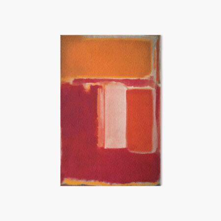Mark Rothko | Yellow, Cherry, Orange Art Board Print