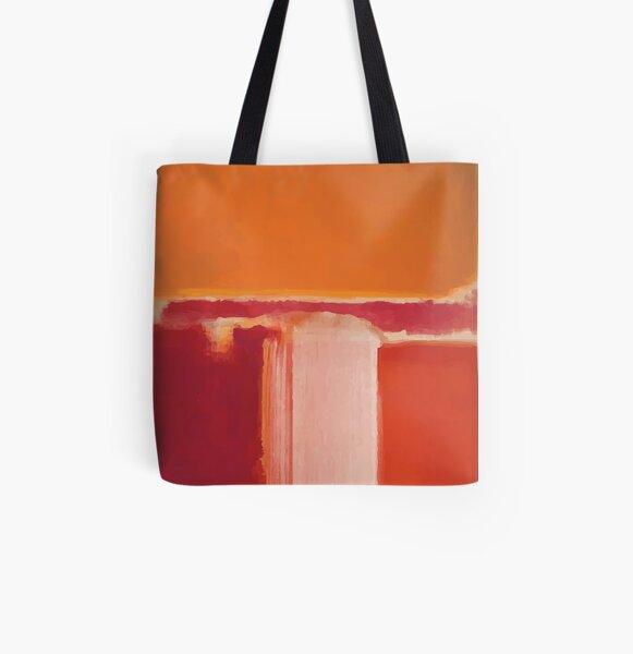Mark Rothko   Yellow, Cherry, Orange All Over Print Tote Bag