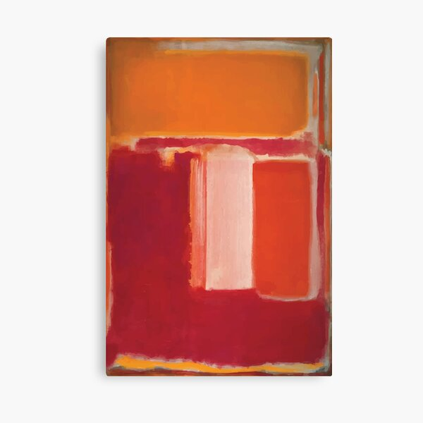 Mark Rothko | Amarillo Lienzo