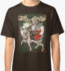 Nordic Santa - Red Classic T-Shirt