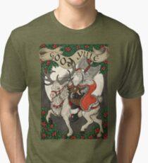 Nordic Santa - Rot Vintage T-Shirt