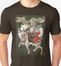 Nordic Santa - Rot Slim Fit T-Shirt
