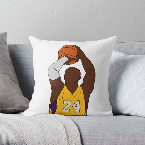 Kobe Bryant Throw Pillow