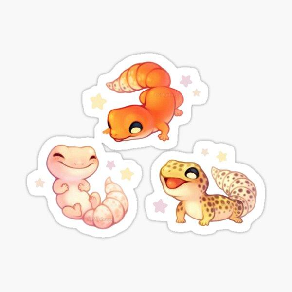 Cute Leopard Gecko  Sticker