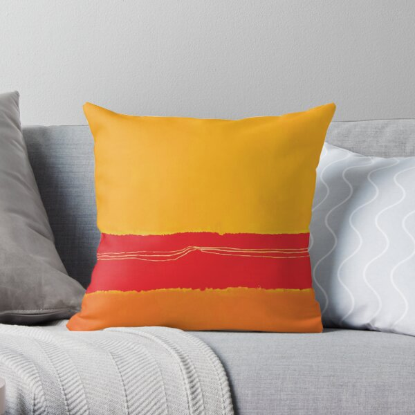 Mark Rothko | No. 5/No.22 Throw Pillow