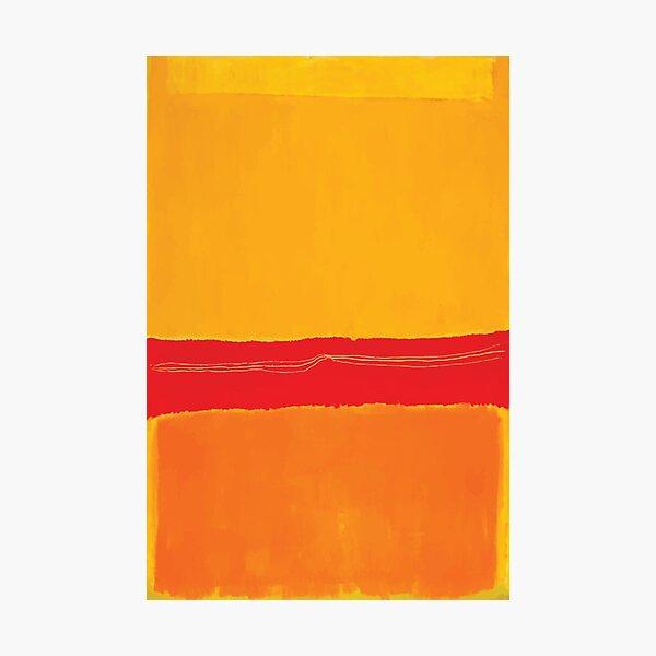 Mark Rothko   No. 5 / No.22 Lámina fotográfica