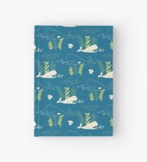 Very Hungry Whale Hardcover Journal