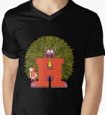Mister H Mens V-Neck T-Shirt