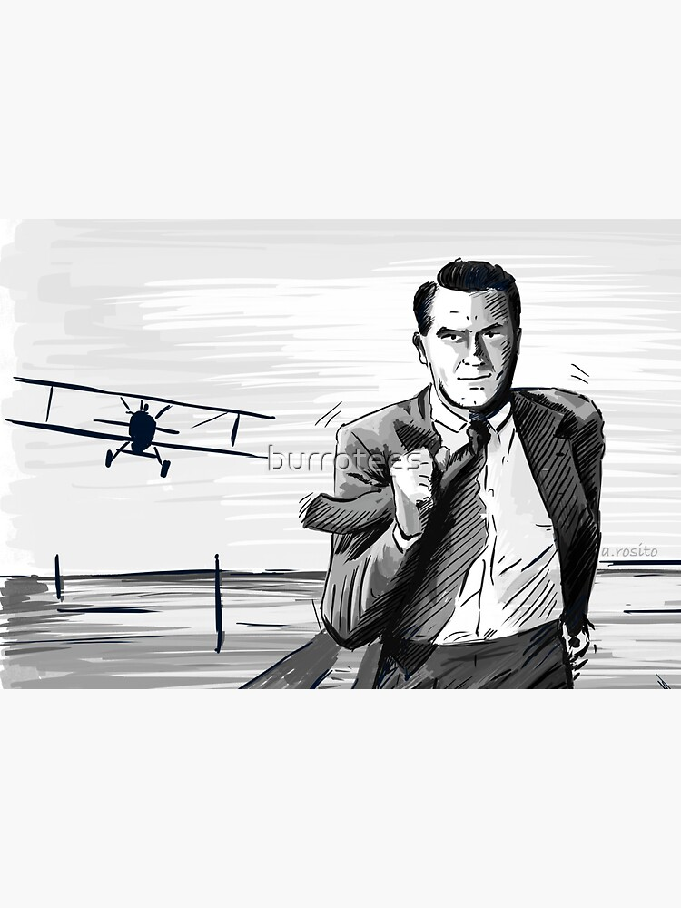 North by Northwest by Alfred Hitchcock by burrotees