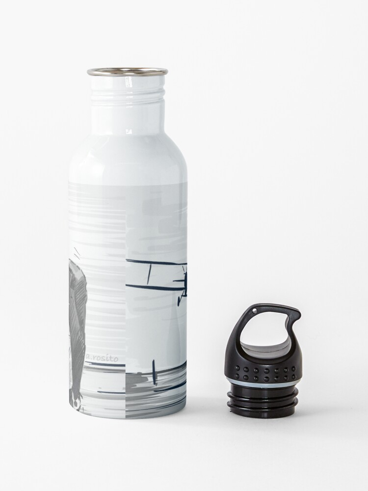 Alternate view of North by Northwest by Alfred Hitchcock Water Bottle