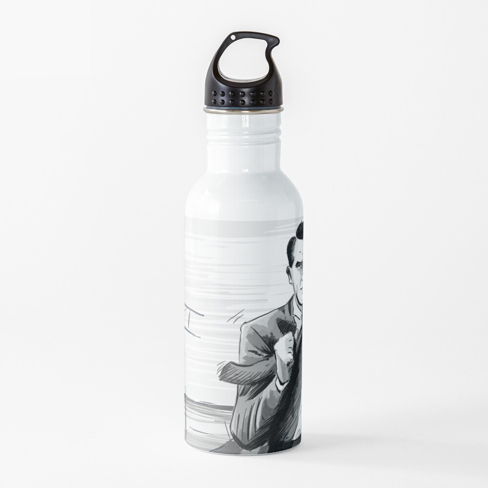 North by Northwest by Alfred Hitchcock Water Bottle