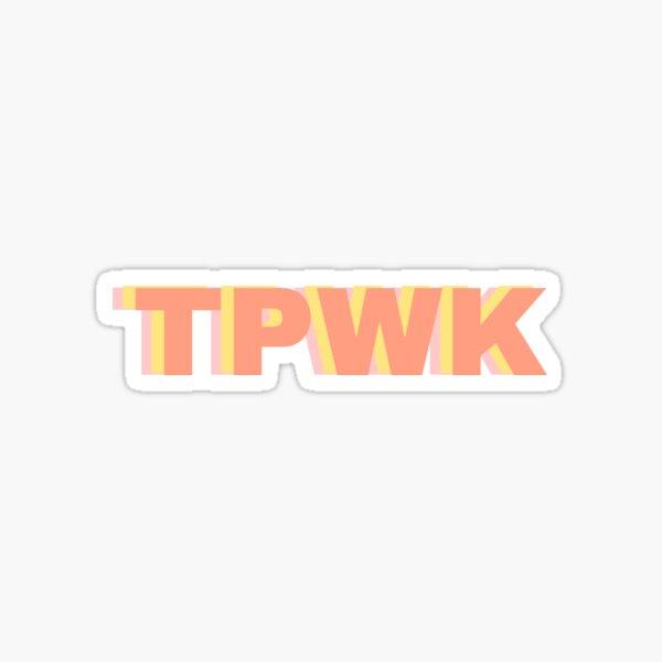 Pegatina TPWK Pegatina