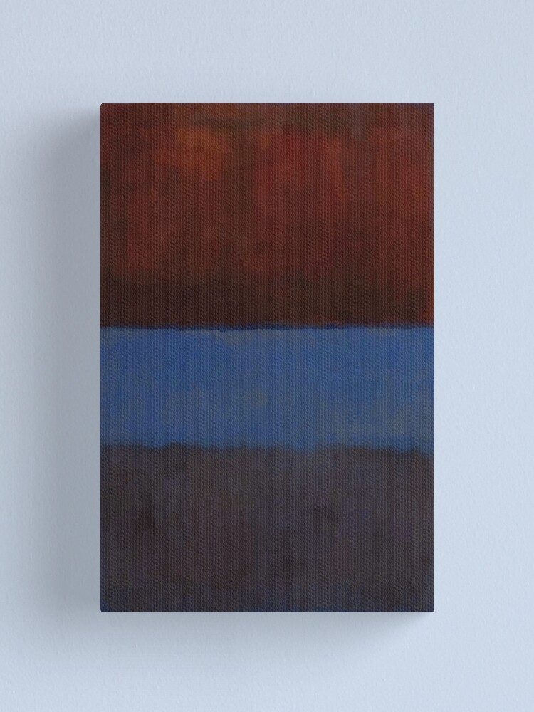 Alternate view of Mark Rothko   No. 61 (Rust and Blue) Canvas Print