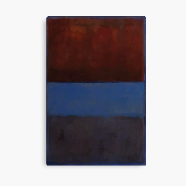 Mark Rothko | No. 61 (óxido y azul) Lienzo