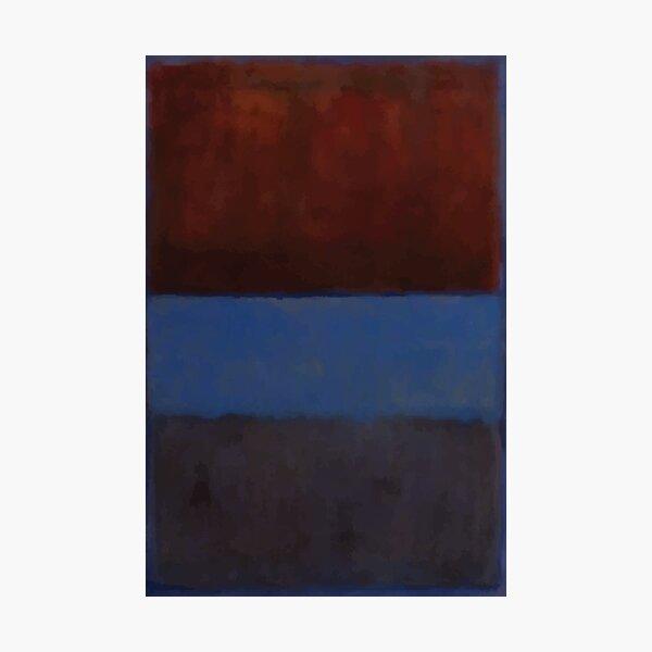 Mark Rothko | No. 61 (óxido y azul) Lámina fotográfica