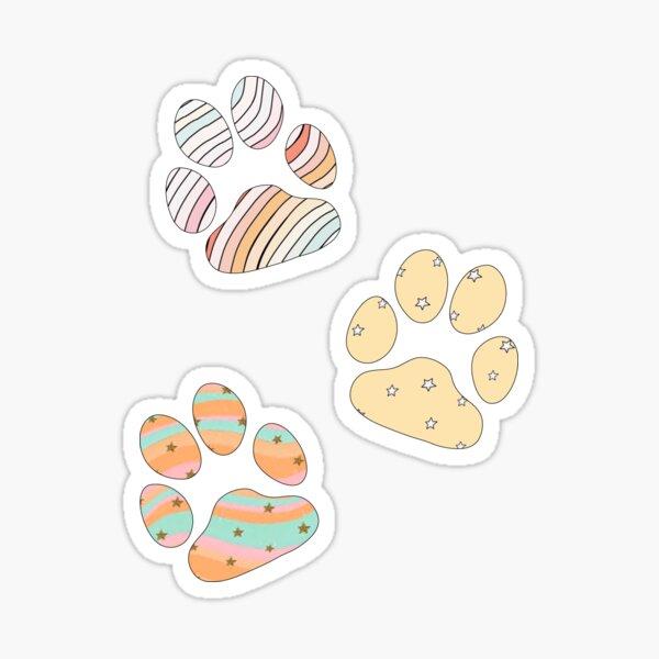 Empreintes de pattes VSCO Sticker