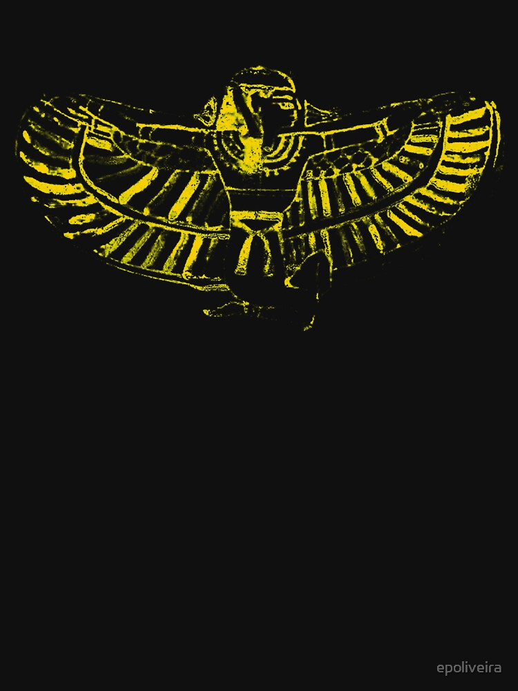 winged goddess art illustration by epoliveira