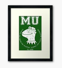 Muppet University Framed Print