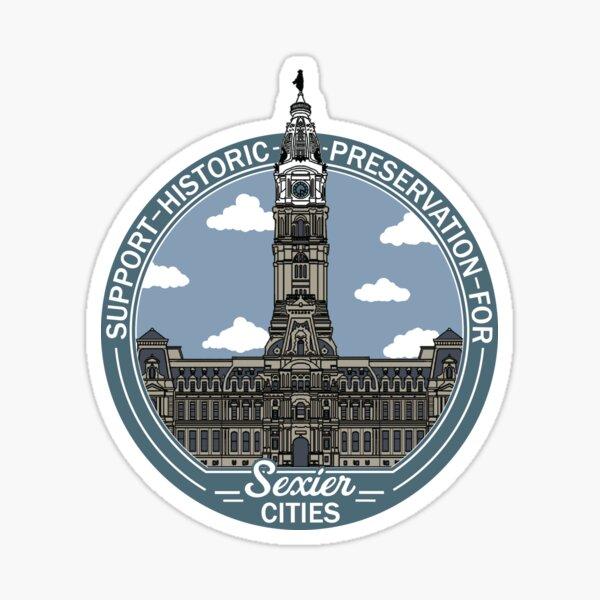 Support Historic Preservation Sticker
