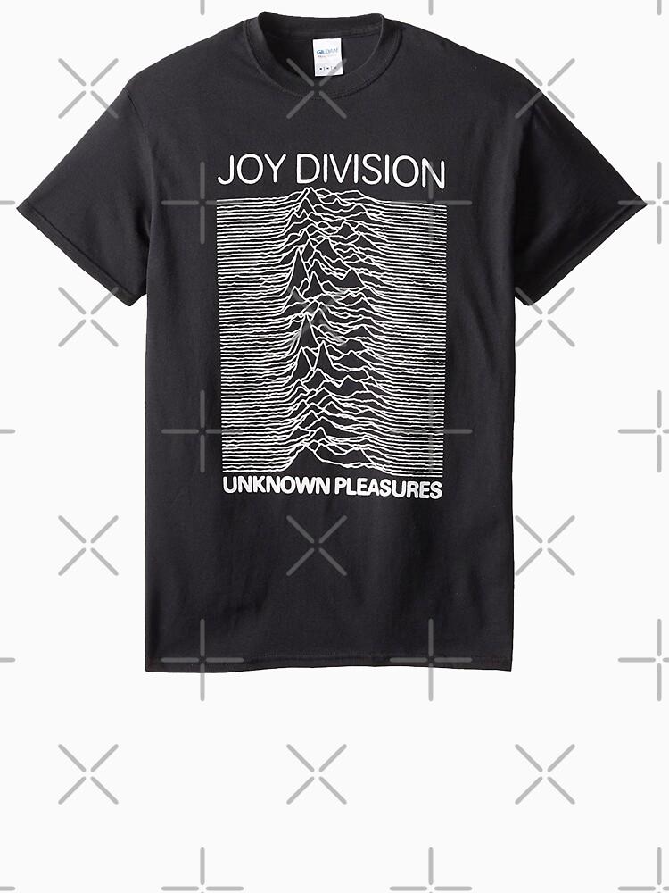CYCLING RADIOWAVES Mens Funny Uknown Pleasures T-Shirt Joy Division Parody Top