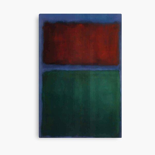 Mark Rothko | Tierra y verde Lienzo