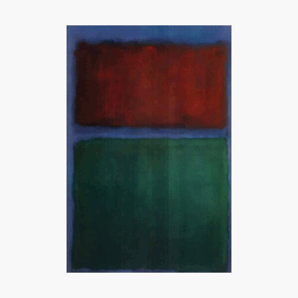Mark Rothko | Earth and Green Photographic Print