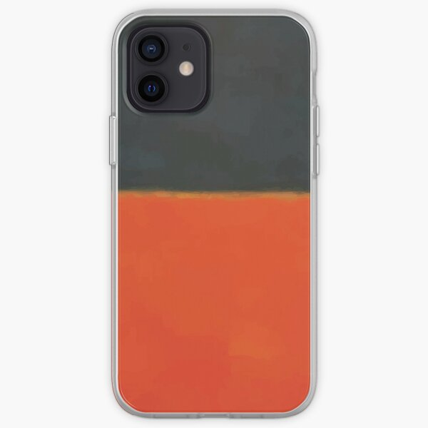 Mark Rothko   Green and Tangerine on Red iPhone Soft Case