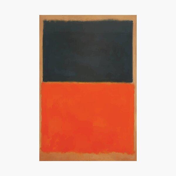 Mark Rothko | Verde y mandarina en rojo Lámina fotográfica