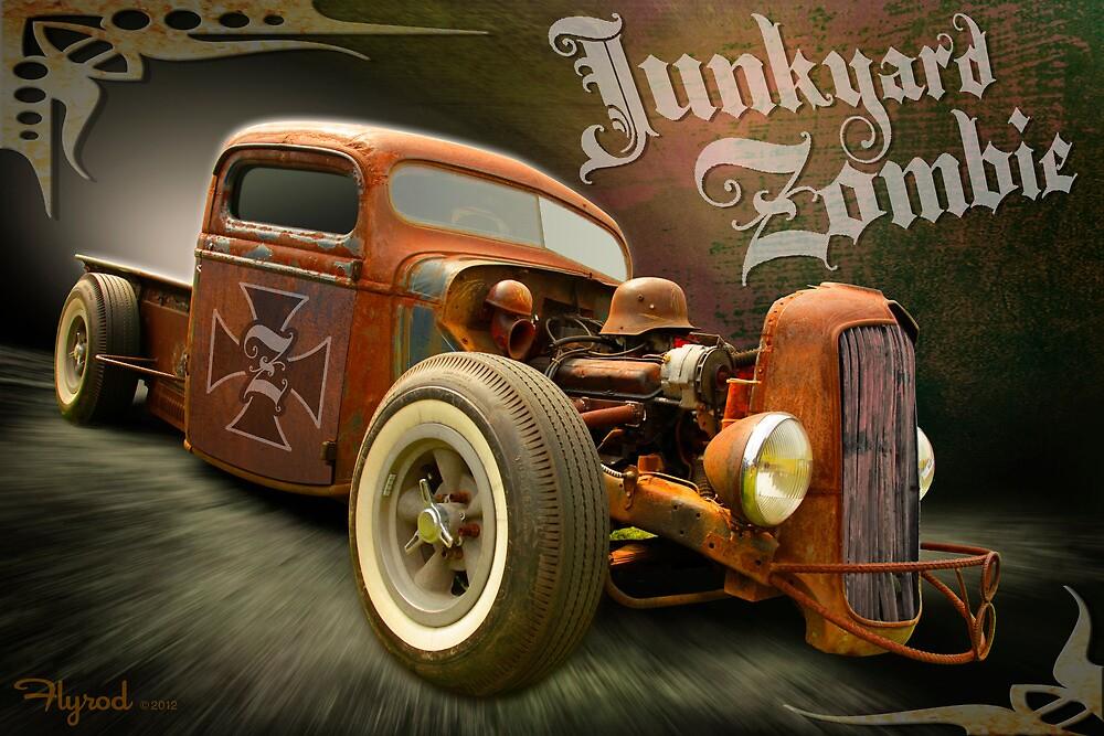 Junkyard Zombie by flyrod