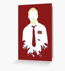 You've Got Red On You Greeting Card