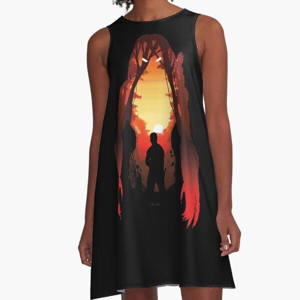 Hunter's Sunset A-Line Dress