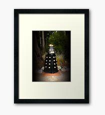 Dalek Letter Box Framed Print