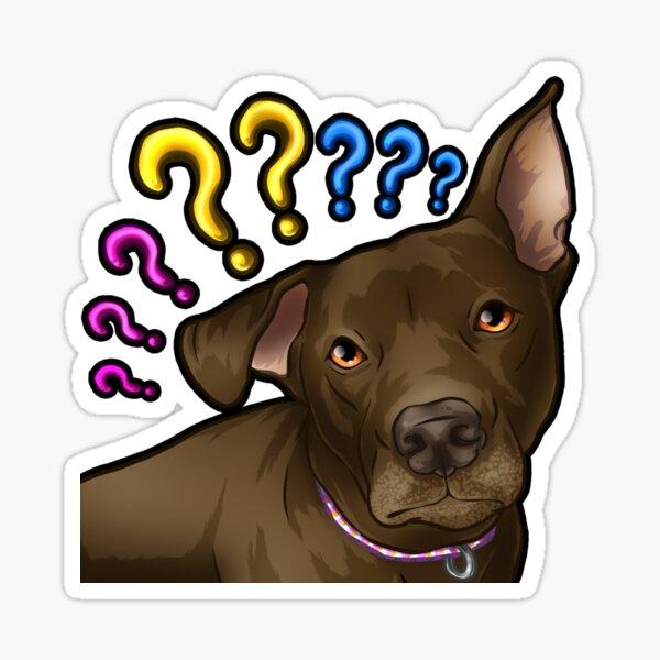 Doggo Eevee Emote Sticker