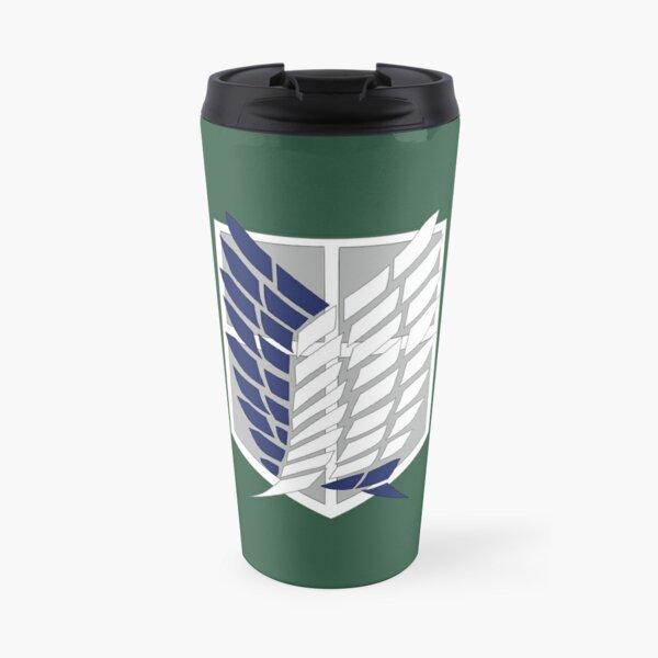 Attack on Titan: Wings Of Freedom Logo Travel Mug