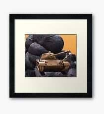 Women And Children First Framed Print
