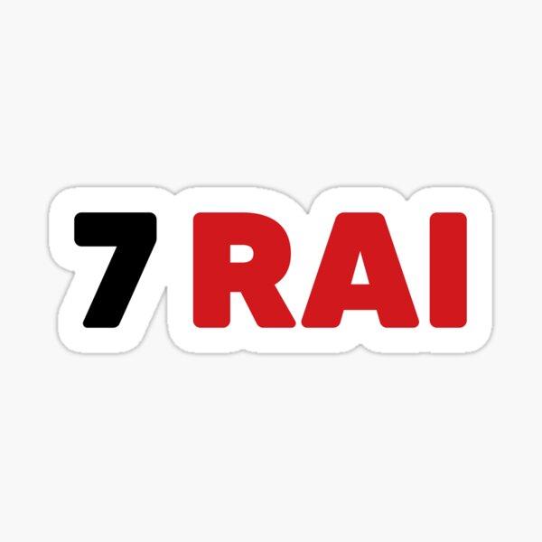 Kimi Raikkonen No. 7 Sticker